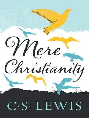 Click this cover for a(n) eBook sample of Mere Christianity.