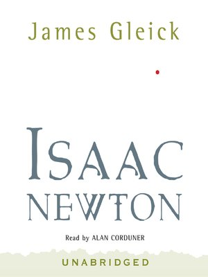 Click this cover for a(n) Audiobook sample of Isaac Newton.
