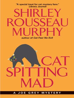 Click this cover for a(n) eBook sample of Cat Spitting Mad.