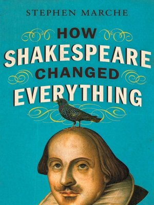 Click this cover for a(n) eBook sample of How Shakespeare Changed Everything.