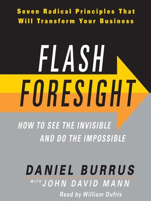 Click this cover for a(n) Audiobook sample of Flash Foresight.