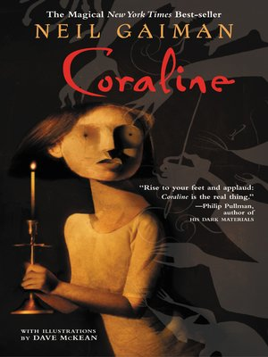 Click this cover for a(n) eBook sample of Coraline