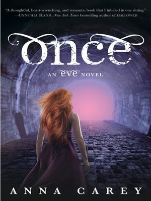 Click this cover for a(n) eBook sample of Once.