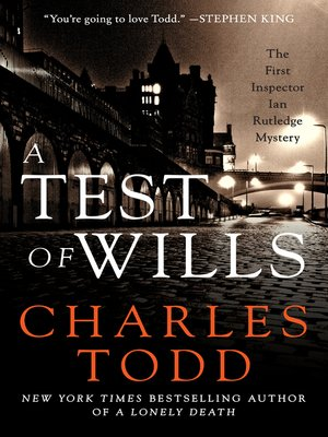 Click this cover for a(n) eBook sample of A Test of Wills.