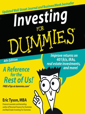 Cover of Investing for Dummies®