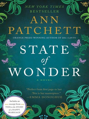 Click this cover for a(n) eBook sample of State of Wonder
