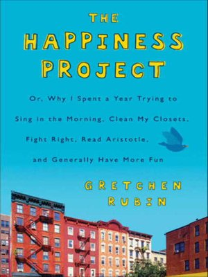 Cover of The Happiness Project