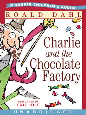 Click this cover for a(n) Audiobook sample of Charlie and the Chocolate Factory
