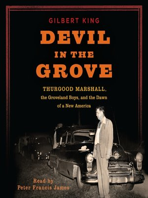Click this cover for a(n) Audiobook sample of Devil in the Grove.