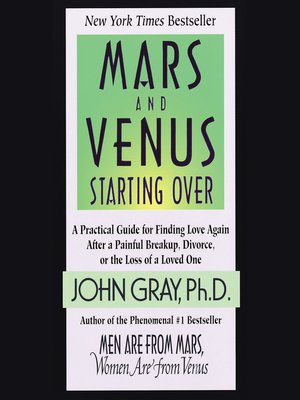 Click this cover for a(n) Audiobook sample of Mars and Venus Starting Over.