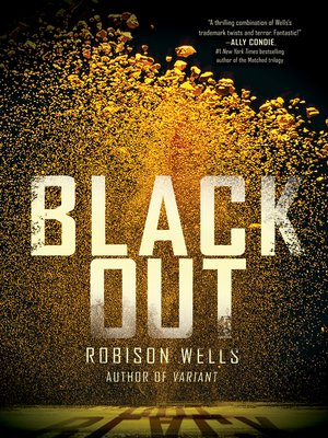 Click this cover for a(n) eBook sample of Blackout.