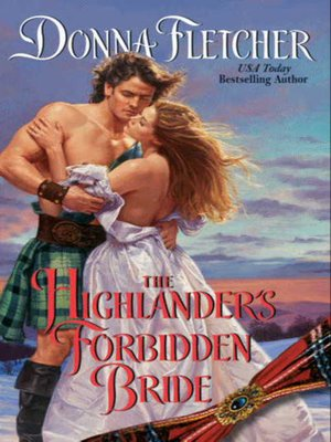 Click this cover for a(n) eBook sample of The Highlander's Forbidden Bride.