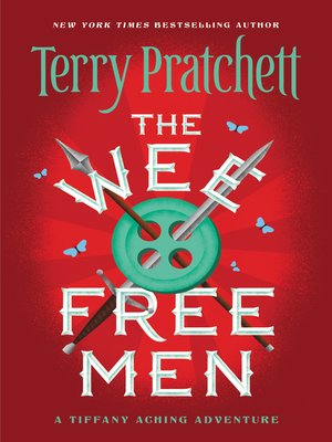 Click this cover for a(n) eBook sample of The Wee Free Men.