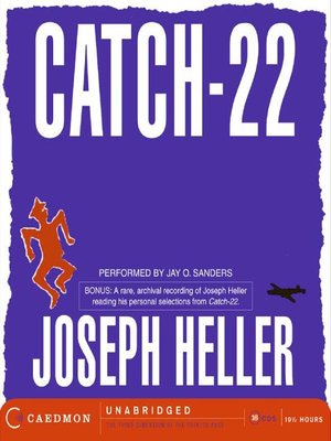 Click this cover for a(n) Audiobook sample of Catch-22