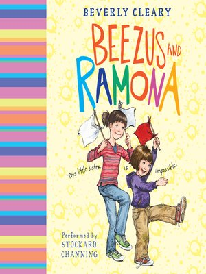 Click this cover for a(n) Audiobook sample of Beezus and Ramona