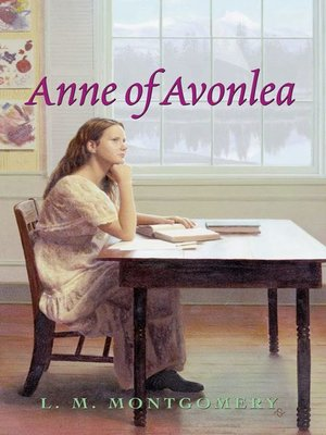 Click this cover for a(n) eBook sample of Anne of Avonlea