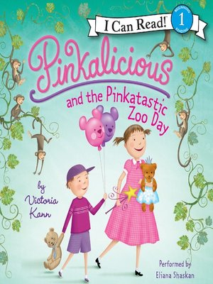 Click this cover for a(n) Audiobook sample of Pinkalicious and the Pinkatastic Zooy