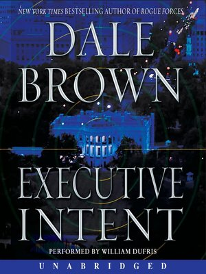 Click this cover for a(n) Audiobook sample of Executive Intent.