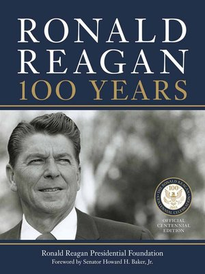 Click this cover for a(n) eBook sample of Ronald Reagan: 100 Years.