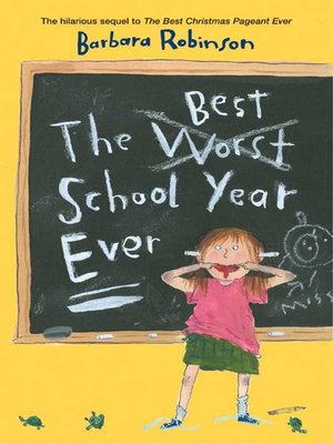 Click this cover for a(n) eBook sample of The Best School Year Ever.