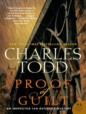 Click this cover for a(n) eBook sample of Proof of Guilt.