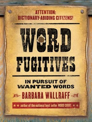 Click this cover for a(n) eBook sample of Word Fugitives.