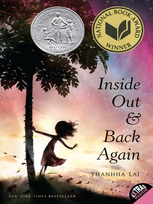 Click this cover for a(n) eBook sample of Inside Out and Back Again.