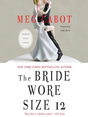Click this cover for a(n) Audiobook sample of The Bride Wore Size 12