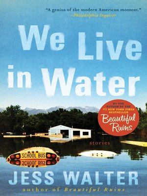 Cover of We Live in Water