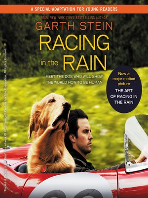 Click this cover for a(n) Audiobook sample of Racing in the Rain.
