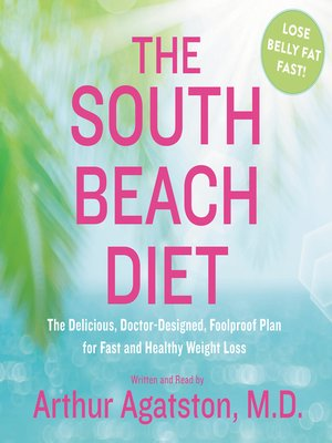 Click this cover for a(n) Audiobook sample of The South Beach Diet