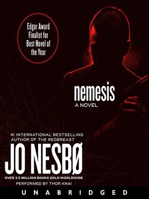Click this cover for a(n) Audiobook sample of Nemesis.