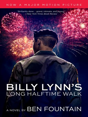 Click this cover for a(n) eBook sample of Billy Lynn's Long Halftime Walk