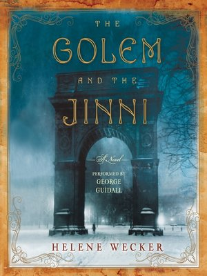 Click this cover for a(n) Audiobook sample of The Golem and the Jinni.