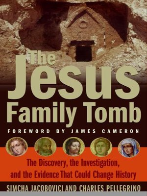 Click this cover for a(n) eBook sample of The Jesus Family Tomb.