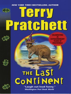 Click this cover for a(n) eBook sample of The Last Continent.
