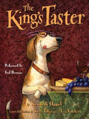 Click this cover for a(n) Audiobook sample of The King's Taster.