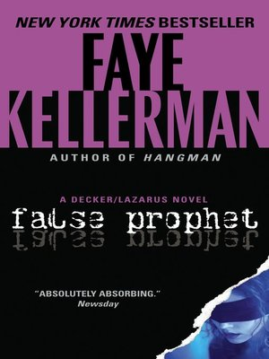 Click this cover for a(n) eBook sample of False Prophet.