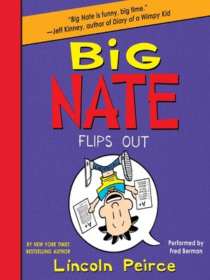 Cover of Big Nate Flips Out