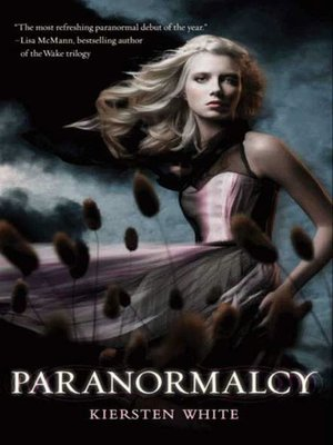 Click this cover for a(n) eBook sample of Paranormalcy.