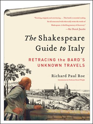 Click this cover for a(n) eBook sample of The Shakespeare Guide to Italy.