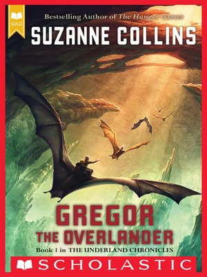 Click this cover for a(n) eBook sample of Gregor the Overlander.