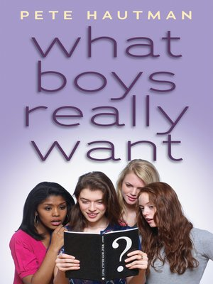Click this cover for a(n) eBook sample of What Boys Really Want.