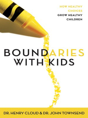 Click this cover for a(n) eBook sample of Boundaries with Kids