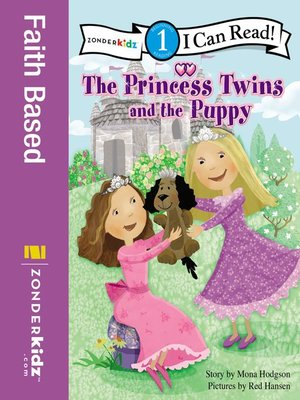 Click this cover for a(n) eBook sample of The Princess Twins and the Puppy.