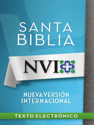 Click this cover for a(n) eBook sample of NVI Santa Biblia con letra negra.