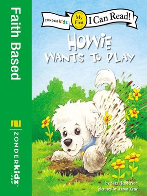 Click this cover for a(n) eBook sample of Howie Wants to Play.