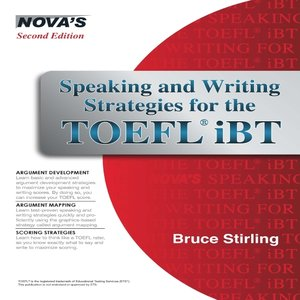 Click this cover for a(n) eBook sample of Speaking and Writing Strategies for the TOEFL iBT.