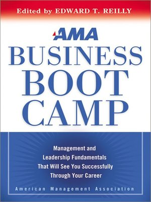 Click this cover for a(n) eBook sample of AMA Business Boot Camp.