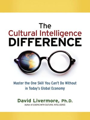 Click this cover for a(n) eBook sample of The Cultural Intelligence Difference .